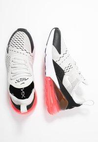 Nike Sportswear - AIR MAX 270 - Sneaker low - black/light bone/hot punch white - 3
