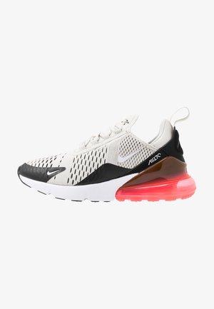 AIR MAX 270 - Sneakers - black/light bone/hot punch white