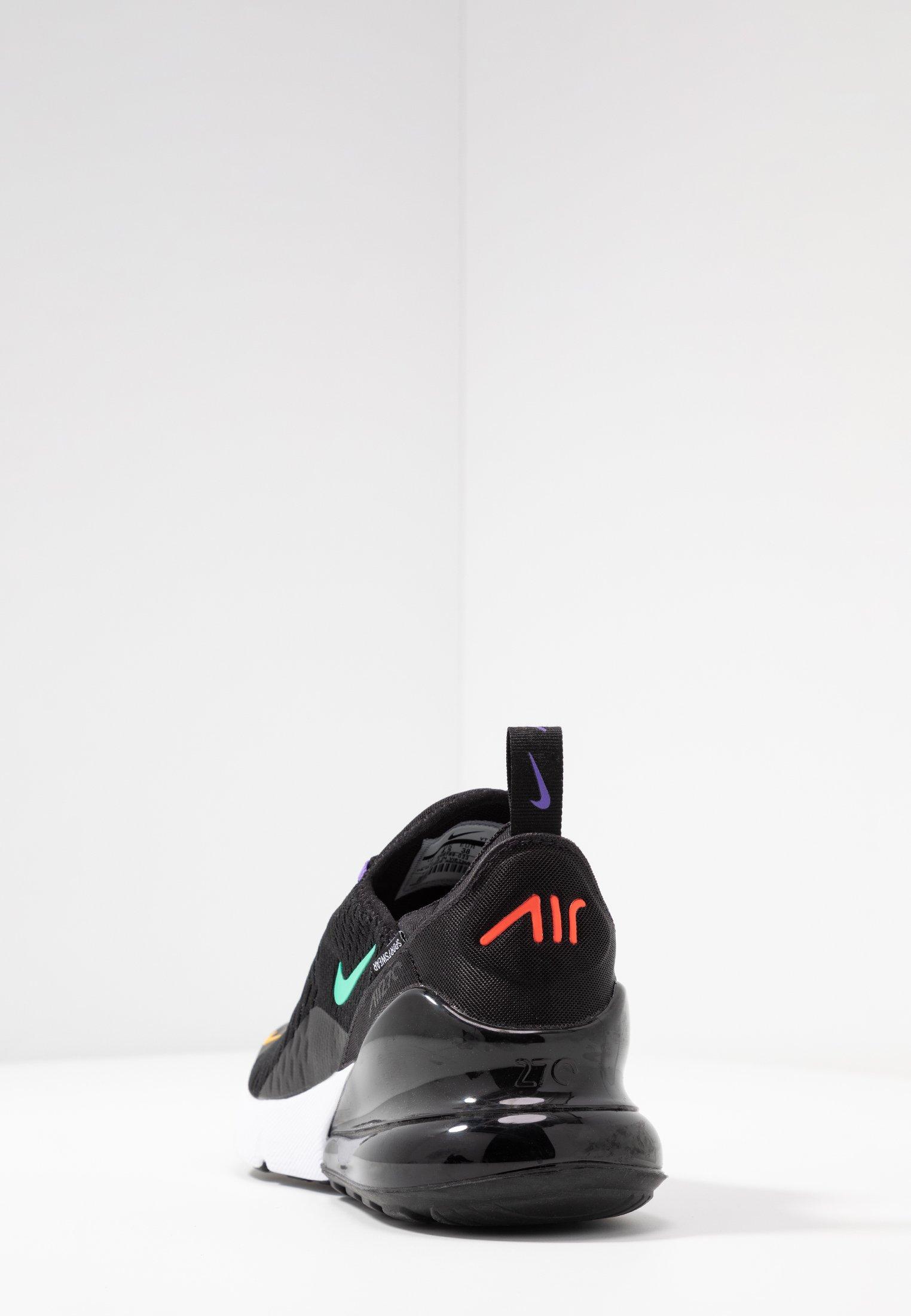 AIR MAX 270 Sneakersy niskie blackflash crimsonuniverse goldpsychic purplekinetic greenwhite