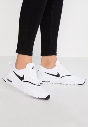 AIR MAX THEA - Sneakers laag - white/black