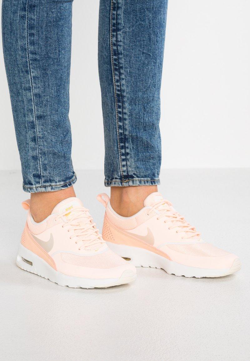 Nike Sportswear - AIR MAX THEA - Sneaker low - crimson tint/pale ivory/celery/summit white