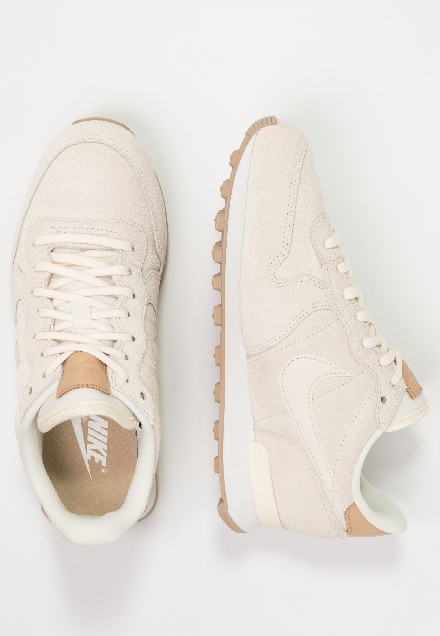 Nike Sportswear INTERNATIONALIST PRM - Joggesko - pale ivory/summit white/tan