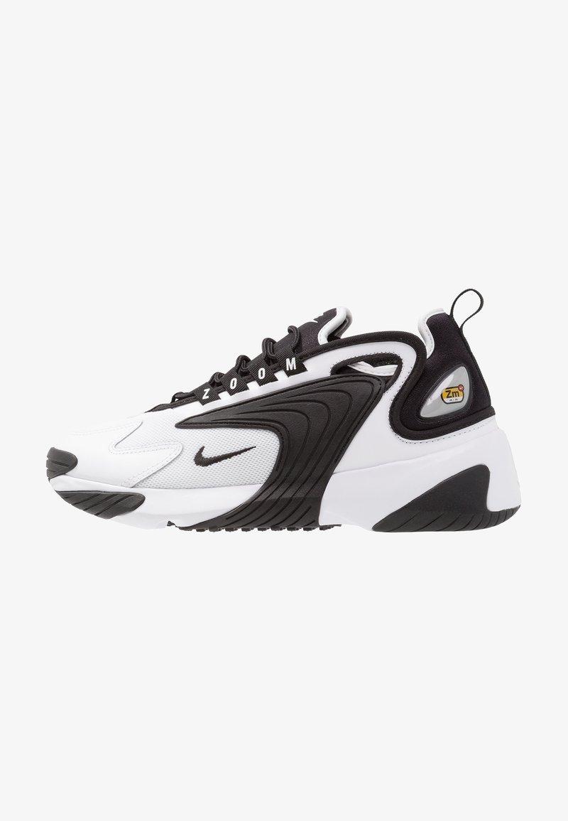Nike Sportswear - ZOOM 2K - Sneakers laag - white/black