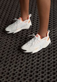 Nike Sportswear - ZOOM 2K - Trainers - platinum tint/hyper crimson/white/black - 4