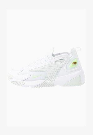 ZOOM 2K - Sneakersy niskie - white/barely volt/ghost aqua