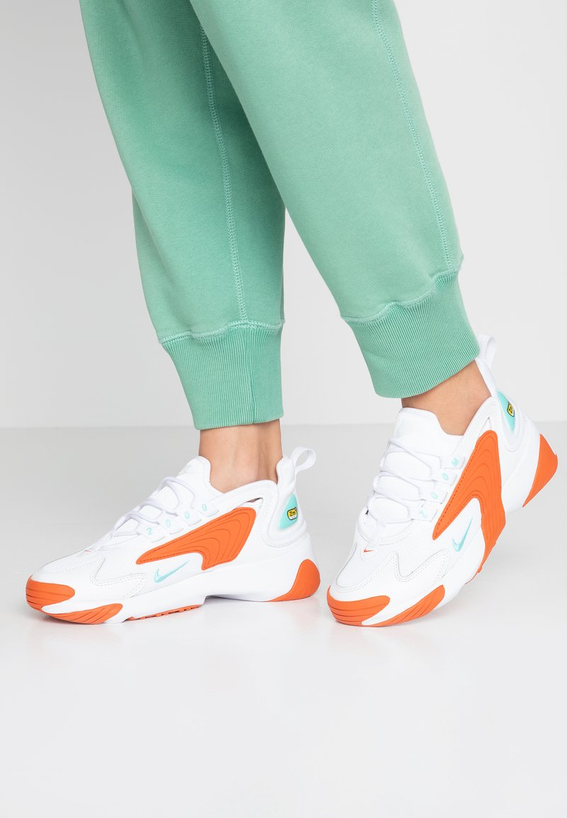 Nike Sportswear - Sneakers laag - white/light aqua/cosmic clay