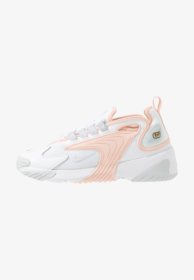 ZOOM 2K - Sneakersy niskie - white/aura/washed coral