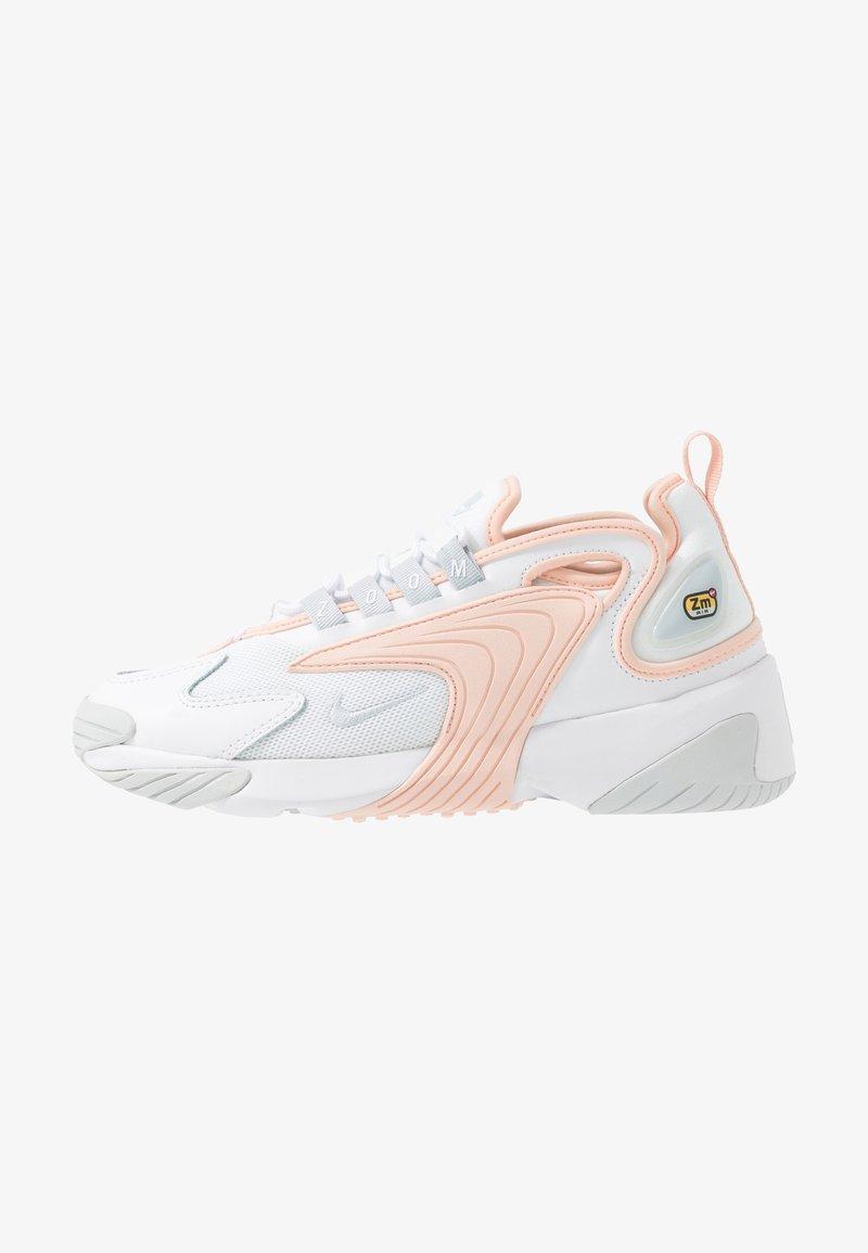 Nike Sportswear - ZOOM 2K - Trainers - white/aura/washed coral
