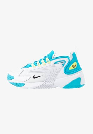 ZOOM 2K - Trainers - blue fury/black/white/limelight
