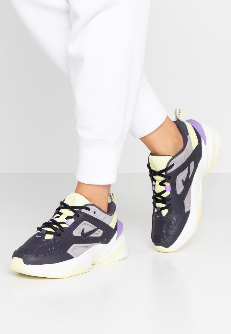 Nike Sportswear - M2K TEKNO - Trainers - gridiron/atmosphere grey/luminous green/atomic violet/summit white