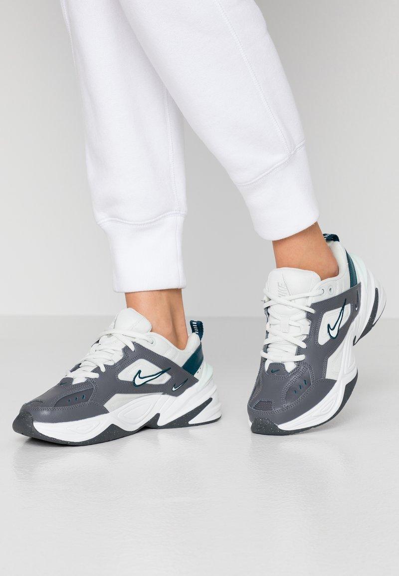 Nike Sportswear - M2K TEKNO - Trainers - dark grey/spruce aura/midnight turquise