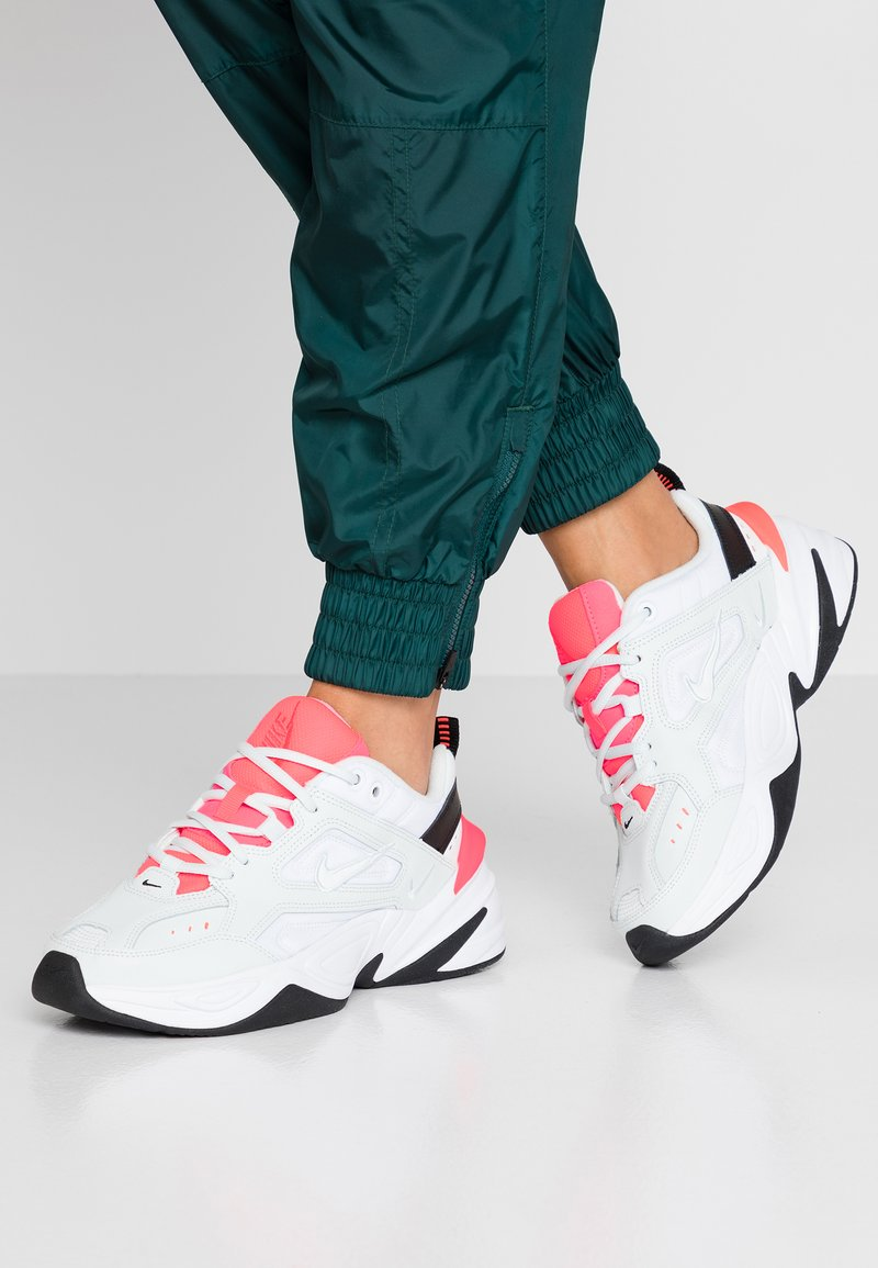 Nike Sportswear - M2K TEKNO - Trainers - ghost aqua/flash crimson/white/black
