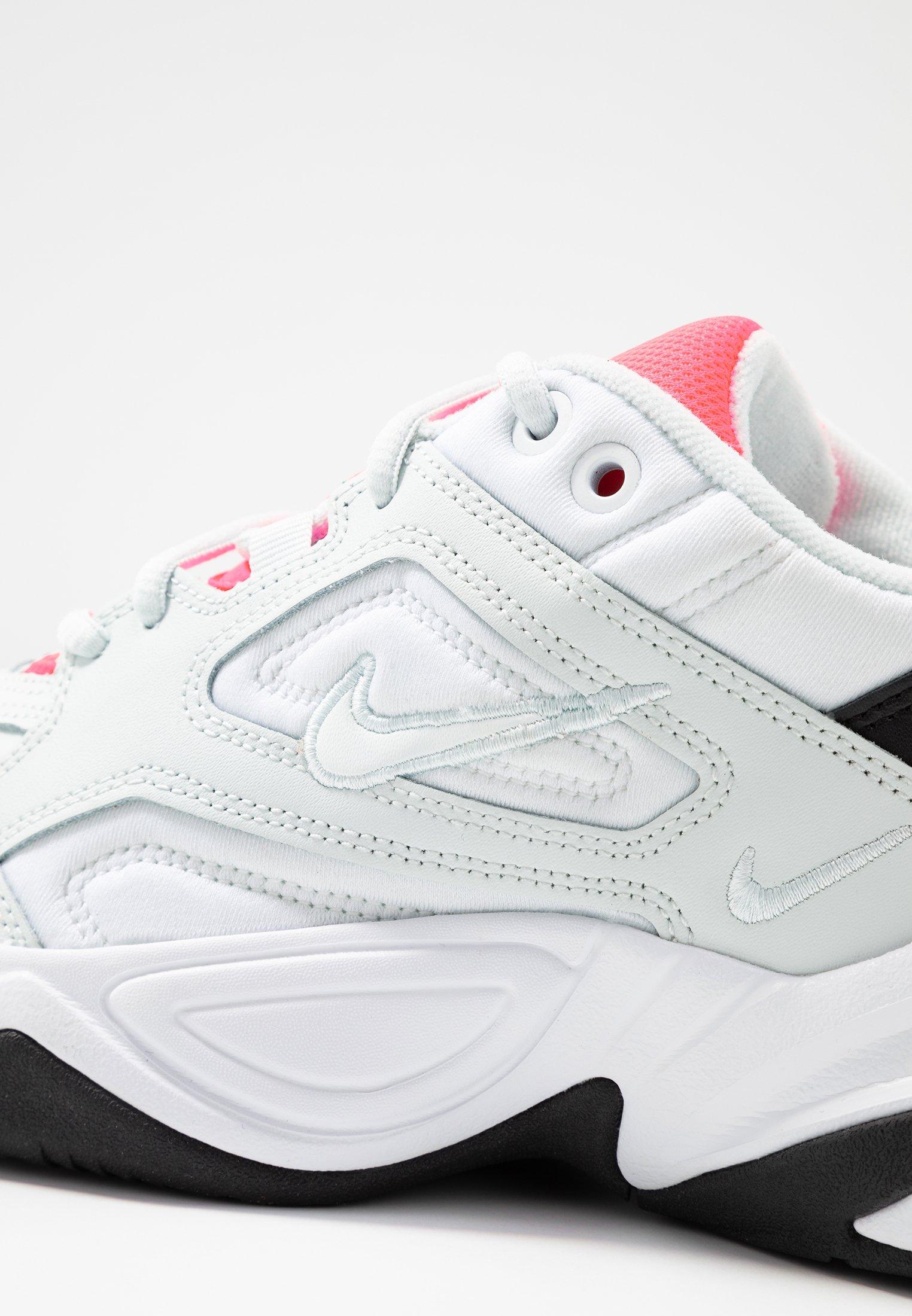 Nike Sportswear M2K TEKNO - Sneakersy niskie - ghost aqua/flash crimson/white/black