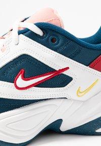 Nike Sportswear - M2K TEKNO - Baskets basses - blue force/summit white/chrome yellow - 2