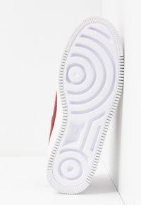 Nike Sportswear - AF1 SAGE - Matalavartiset tennarit - team red/noble red - 6