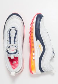 Nike Sportswear - AIR MAX 97 - Sneakers laag - pure platinum/laser orange/midnight navy/racer pink/summit white - 1