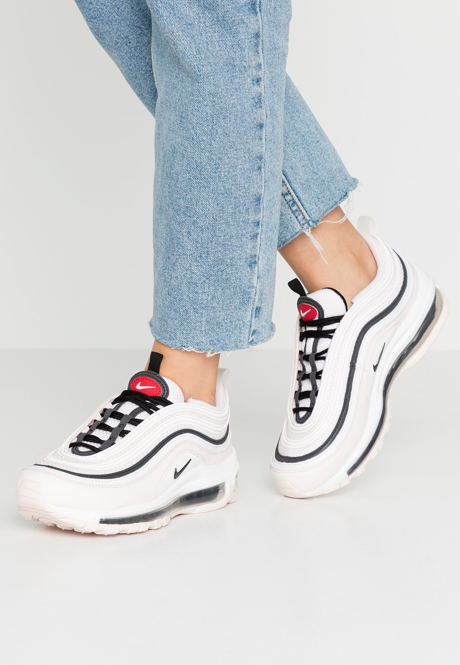 AIR MAX 97 Sneakers basse light soft pinkblacksummit whitegym redwhite