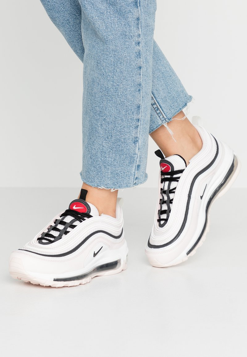 Nike Sportswear - AIR MAX 97 - Tenisky - light soft pink/black/summit white/gym red/white