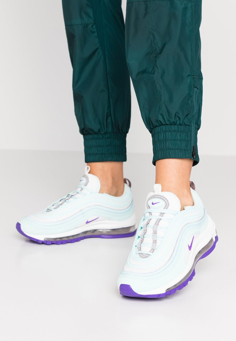 Nike Sportswear - AIR MAX 97 - Trainers - teal tint/summit white/pumice/hyper grape