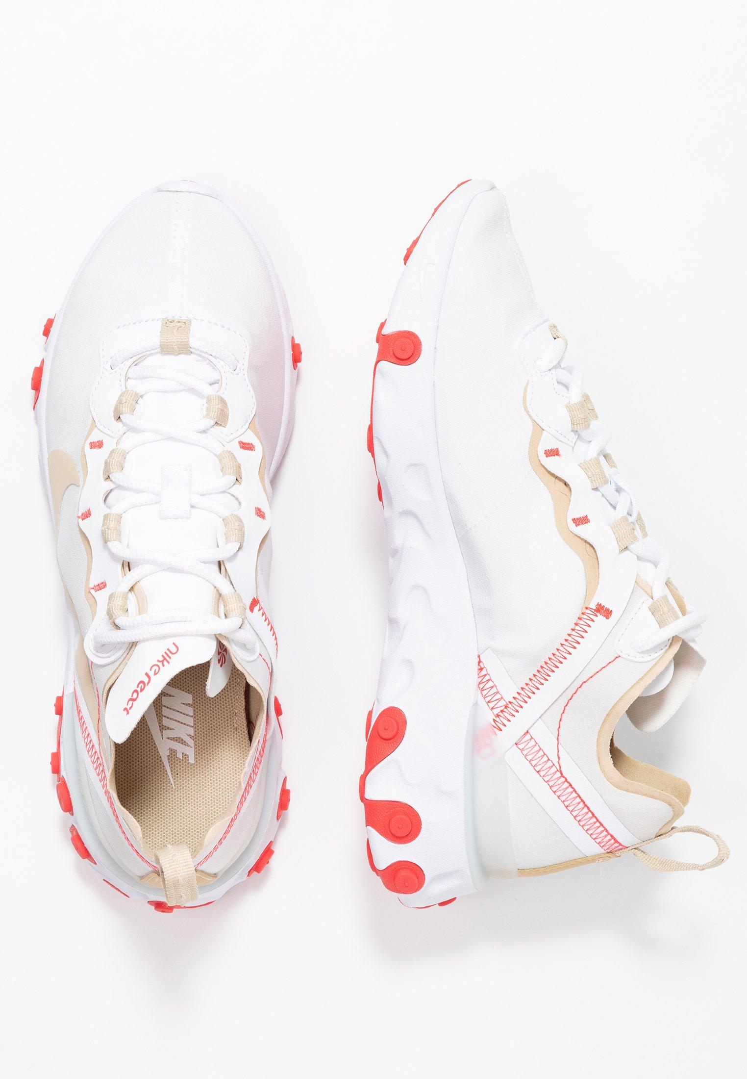 REACT 55 Sneakers whitedesert orewhiteember glow