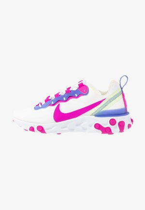 REACT 55 - Trainers - white/fire pink/sapphire/barely volt
