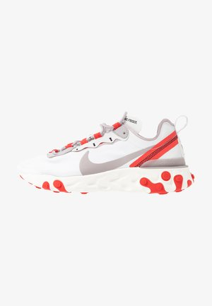 REACT 55 - Matalavartiset tennarit - platinum tint/silver lilac/track red/black/sail