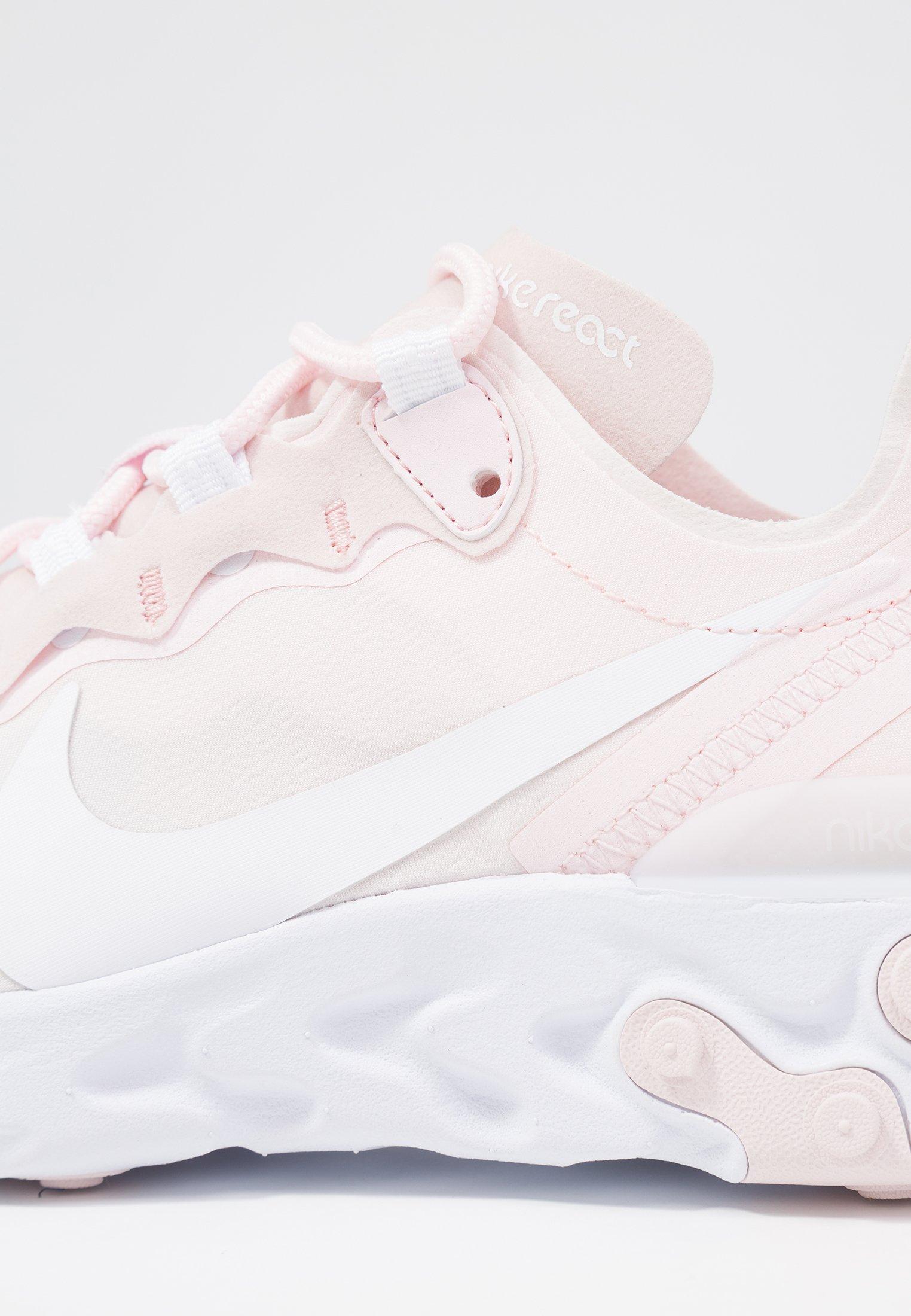 Nike Sportswear REACT 55 Baskets basses pale pinkwashed