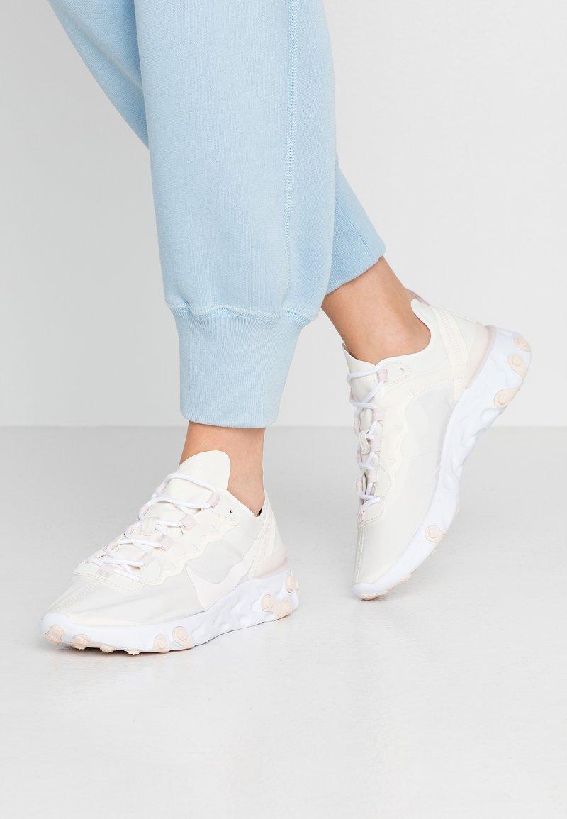 Nike Sportswear - REACT 55 - Sneaker low - pale ivory/light soft pink