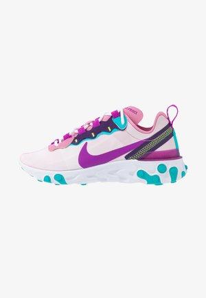 REACT 55 - Sneakers basse - flamingo/vivid purple/eggplant/oracle