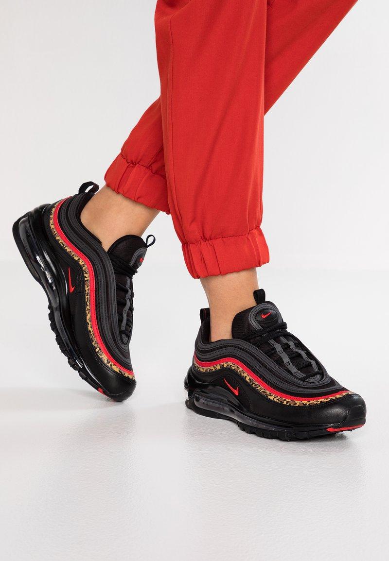 Nike Sportswear - AIR MAX 97 AP - Sneakers laag - black/red
