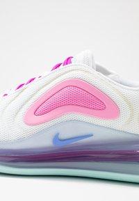 Nike Sportswear - AIR MAX 720 - Sneakers laag - white/light aqua/chalk blue/psychic pink/luminous green/hyper violet - 2