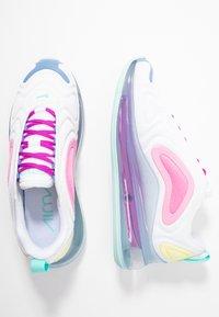 Nike Sportswear - AIR MAX 720 - Sneakers laag - white/light aqua/chalk blue/psychic pink/luminous green/hyper violet - 3