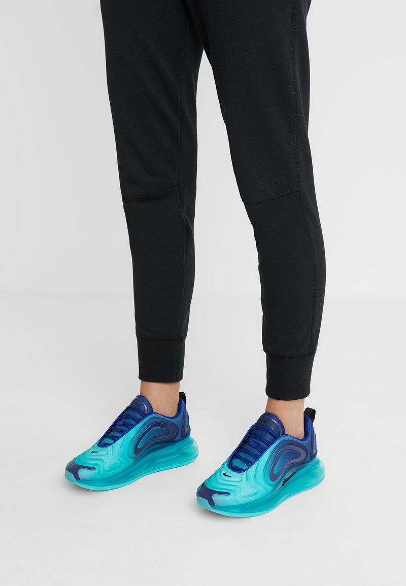 Nike Sportswear - AIR MAX 720 - Trainers - deep royal blue/black/hyper jade