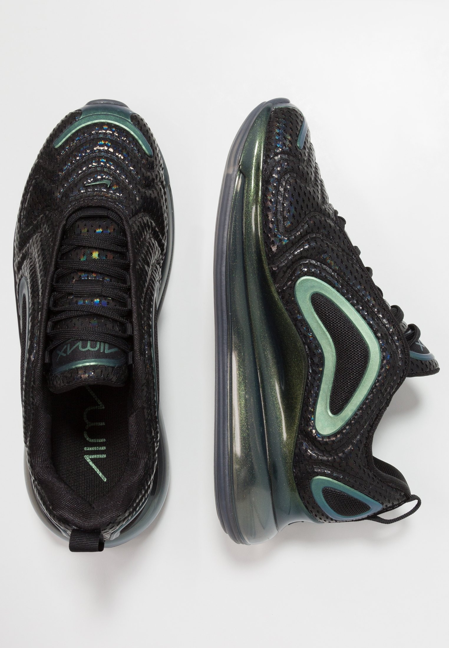 AIR MAX 720 Sneaker low blackmetallic silver