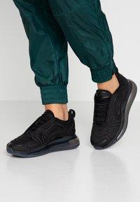 Nike Sportswear - AIR MAX 720 - Sneakers laag - black/anthracite - 0