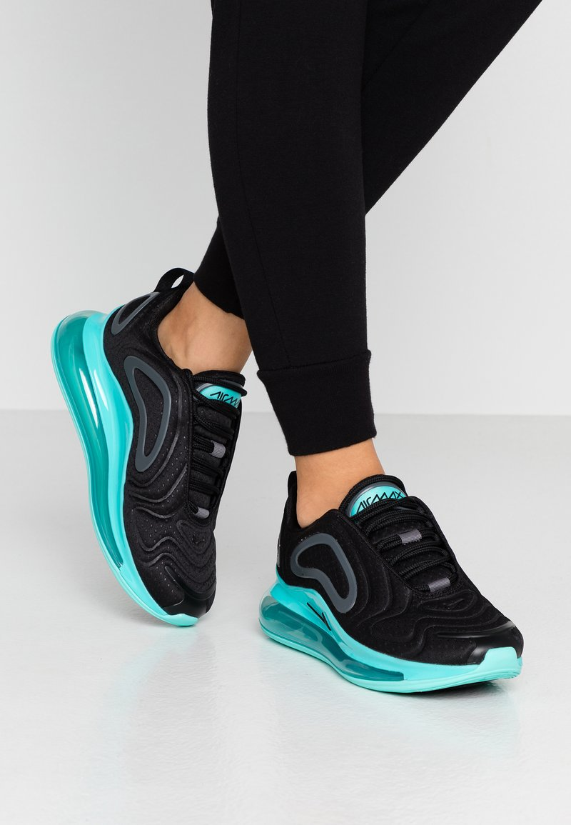 Nike Sportswear - AIR MAX 720 - Sneaker low - black/aurora green/dark grey