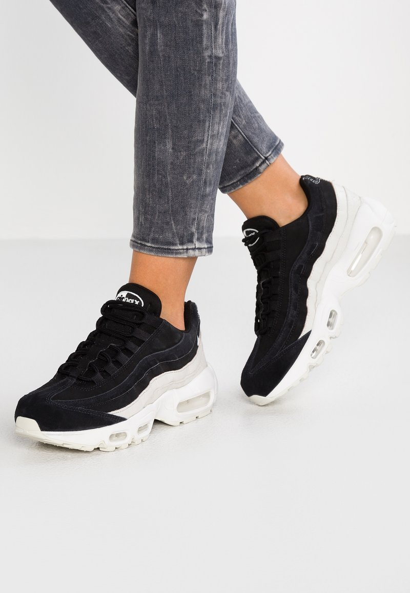 Nike Sportswear - AIR MAX 95 PRM - Sneakers - black/spruce aura/summit white