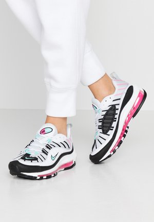 AIR MAX 98 - Sneakers - pure platinum/aurora green/black/pink blast/white