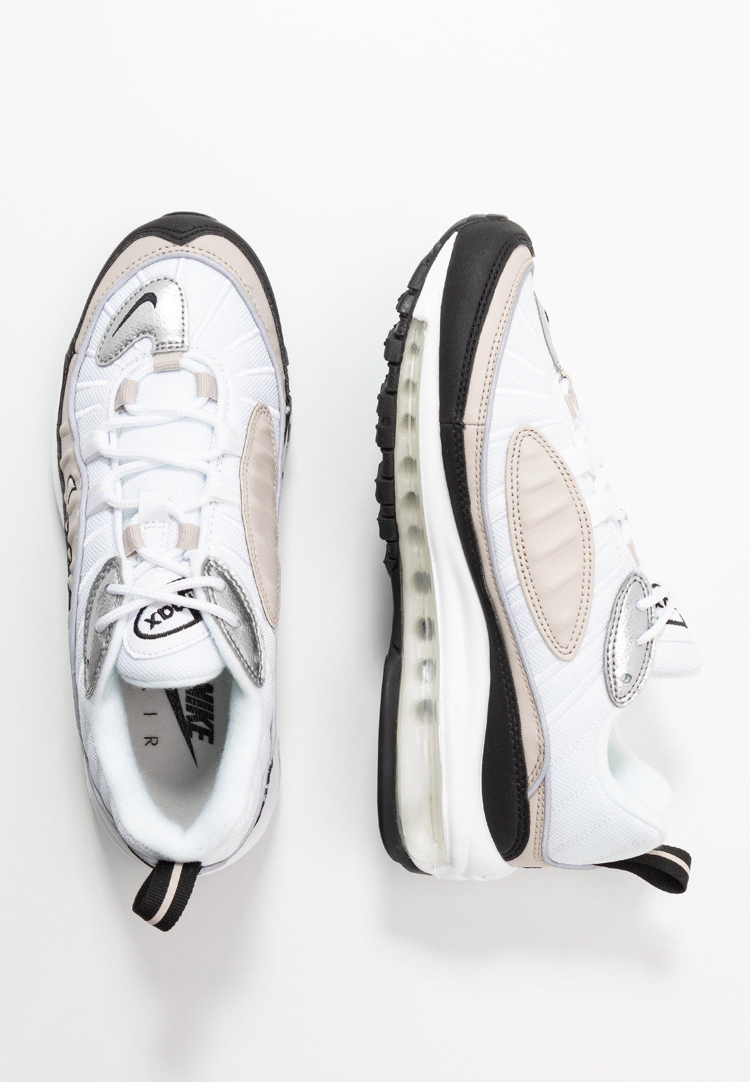 Nike Sportswear AIR MAX 98 Baskets basses whitemetallic