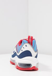 Nike Sportswear - AIR MAX 98 - Baskets basses - summit white/blue void/university red/reflect silver/university blue - 5