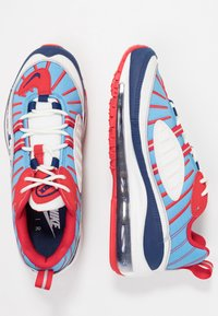 Nike Sportswear - AIR MAX 98 - Baskets basses - summit white/blue void/university red/reflect silver/university blue - 3