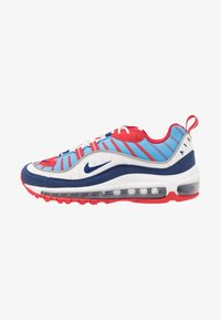 Nike Sportswear - AIR MAX 98 - Baskets basses - summit white/blue void/university red/reflect silver/university blue - 1