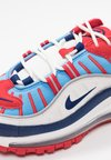 Nike Sportswear - AIR MAX 98 - Trainers - summit white/blue void/university red/reflect silver/university blue