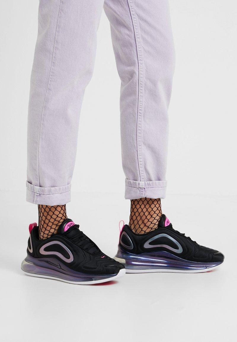 Nike Sportswear - AIR MAX 720 SE - Sneaker low - black/laser fuchsia/white