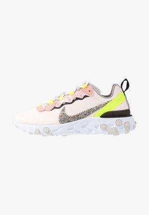REACT ELEMENT 55 PRM - Sneakers basse - light soft pink/atmosphere grey/black/volt/vast grey