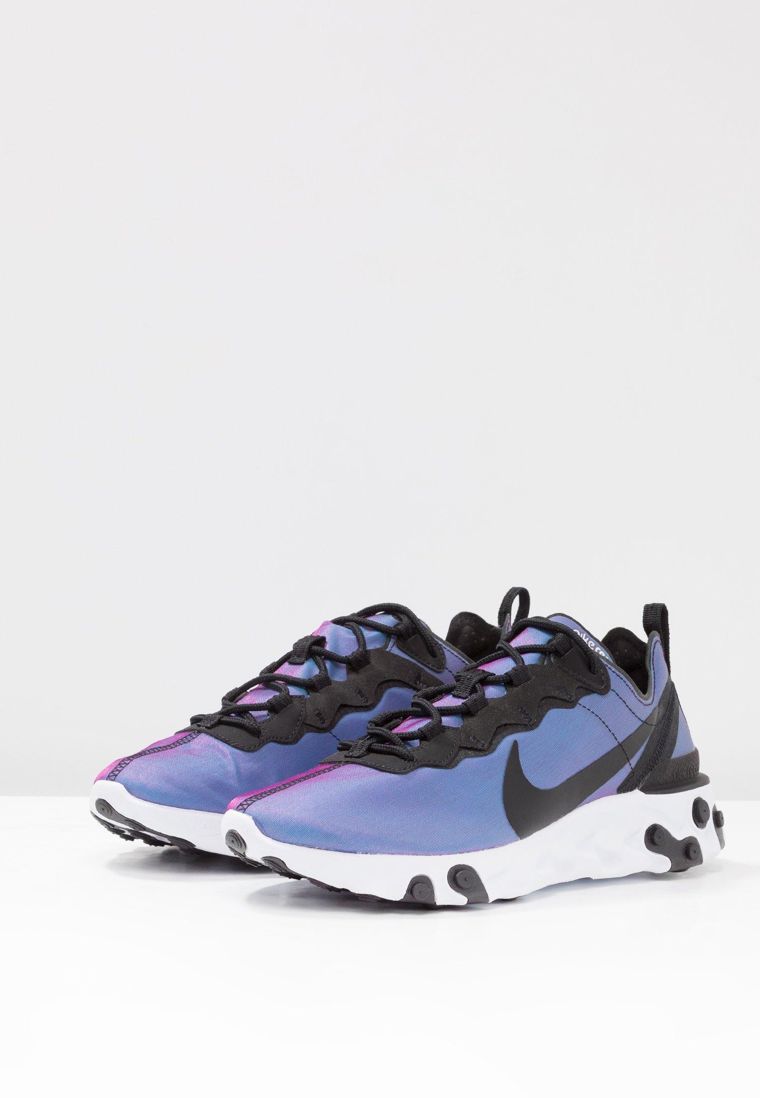 active Sportswear Basses React Element 55Baskets white Nike Black Pink HDE9b2IeWY