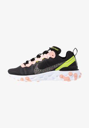 REACT ELEMENT 55 PRM - Sneakers basse - black/volt/coral stardust/light soft pink/white