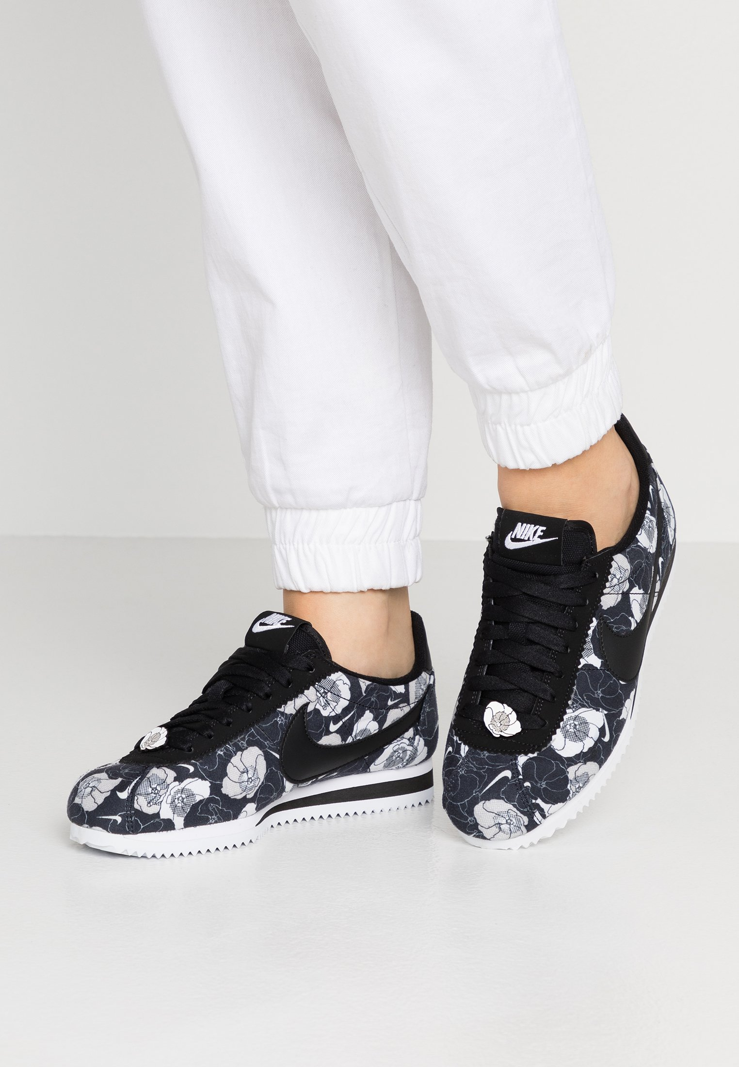 Nike Sportswear CLASSIC CORTEZ - Sneakers basse black/white
