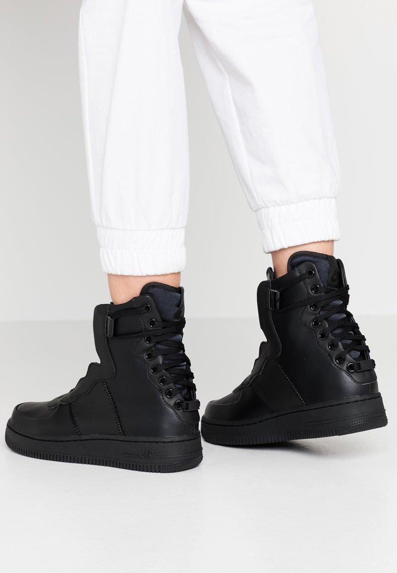 Nike Sportswear - AF1 REBEL - Sneakers high - black