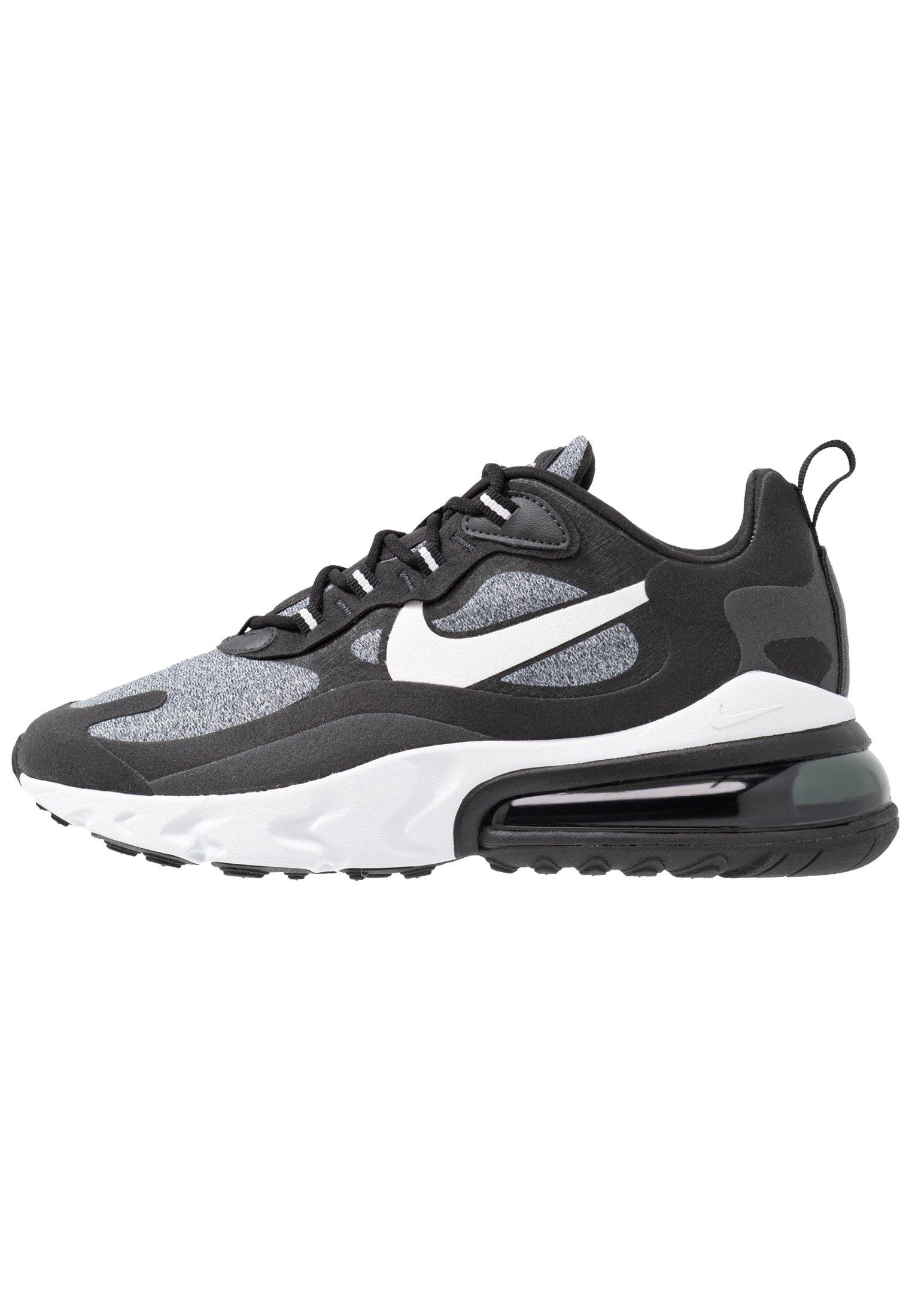 AIR MAX 270 REACT - Sneakers laag - black/vast grey/off noir